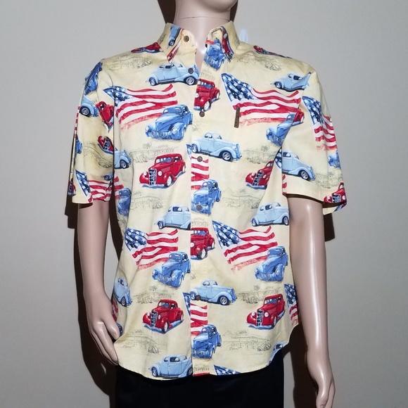 456c36bf583 Magellan Outdoors Shirts | Magellan Sportswear Mens Large Button ...